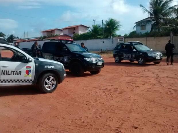Ação aconteceu na Redinha, Zona Norte de Natal (Foto: Divulgação/Polícia Militar do RN)