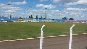 Estádio das Moreninhas, em Campo Grande (Foto: Ricardo Freitas/TV Morena)