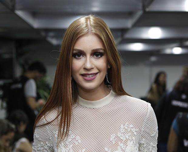 Marina Ruy Barbosa comenta boatos sobre término de namoro (Foto: Fábio Rocha / Gshow)