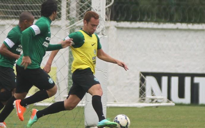 Zé Love em treinamento do Coritiba (Foto: Divulgação/ Site oficial Coritiba)