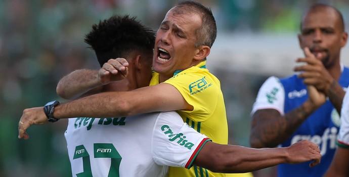 Vitinho Eduardo Baptista Palmeiras (Foto: Cesar Greco/Ag Palmeiras/Divulgação)