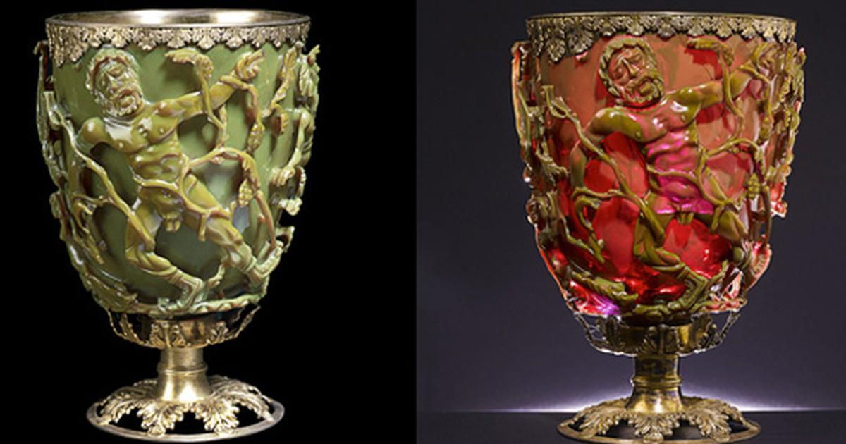 Taça de 1.600 anos que muda de cor já usava princípios de nanotecnologia