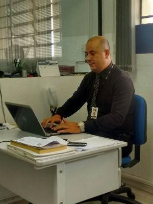 Emerson Marques trabalha em uma empresa que presta serviços de segurança privada (Foto: Arquivo pessoal)