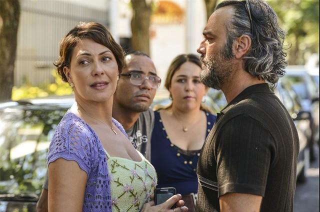 Fabiula Nascimento, Silvio Guindane, Débora Lamm e Marcelo Valle  (Foto: Daniel Chiacos)