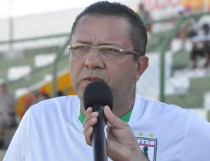 Suélio Lacerda, técnico do Sousa (Foto: Jéfferson Emmanoel)