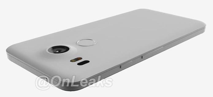 Foto mostra mais detalhes da parte traseira do novo Nexus 5 (Foto: Reprodução/Twitter)