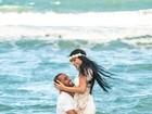 Lucas Moura faz post apaixonado horas antes de se casar