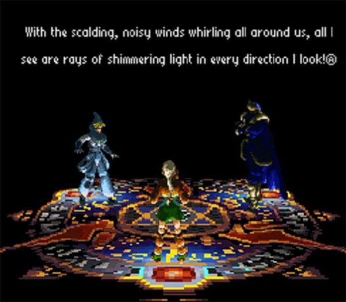 Radical Dreamers em versão traduzida por fã (Foto: Reprodução/Game Paradise)