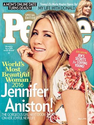 Jennifer Aniston é eleita mulher mais bonita de 2016 (Foto: Divulgação)