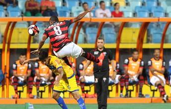 Atlético-GO e Iporá empatam sem  gols em jogo travado no Olímpico