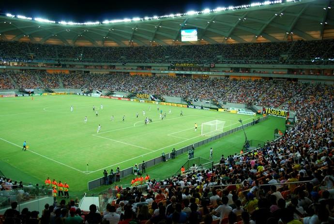 Arena da Amazônia jogo Resende e Vasco (Foto: Silvio Lima)