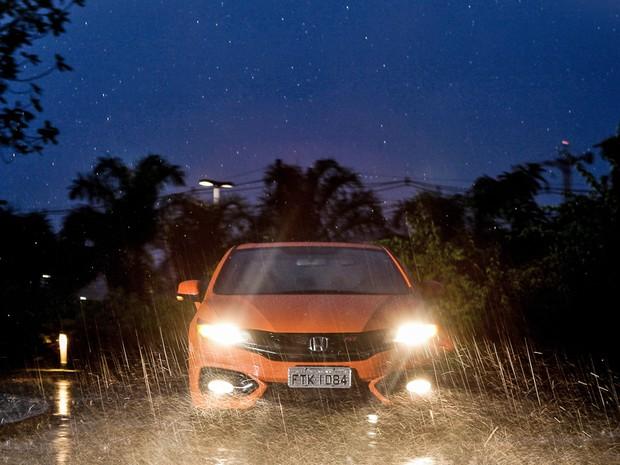 Honda Civic Si (Foto: Caio Kenji/G1)