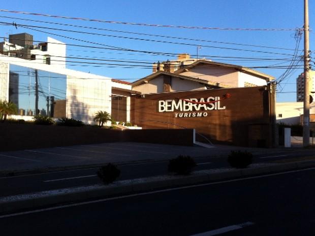 Agência Bem Brasil está de portas fechadas (Foto: Marcia Belmello/G1)