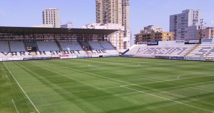 Estádio do Varzim, de Portugal (Foto: Divulgação/ Site Varzim)