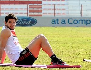 Alexandre Pato no treino do Milan (Foto: Getty Images)