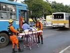 Colisão entre dois ônibus deixa passageiros feridos na Asa Norte, DF