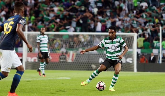 Elias Sporting x Moreirense (Foto: Divulgação)
