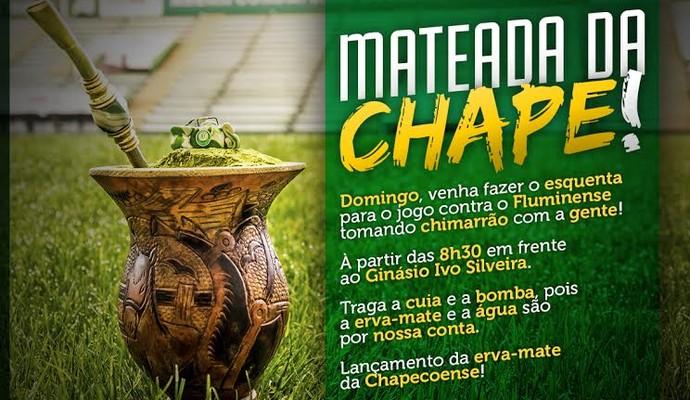 Chapecoense mateada (Foto: Reprodução)