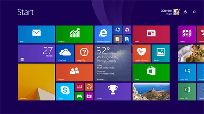 Atualização do Windows trás novos recursos para a interface do sistema operacional (foto: Reprodução/Microsoft)