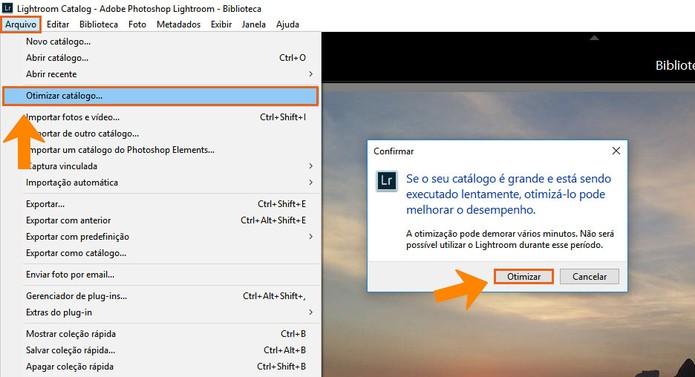 Otimizar o catálogo permite deixar o funcionamento mais rápido no Lightroom (Foto: Reprodução/Barbara Mannara)