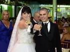 Longe do carnaval, ex-rainha de bateria Luciana Picorelli se casa no Rio