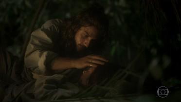 Joaquim cuida de Quinzinho na mata