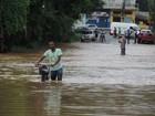 Blumenau registra alagamentos após forte chuva localizada