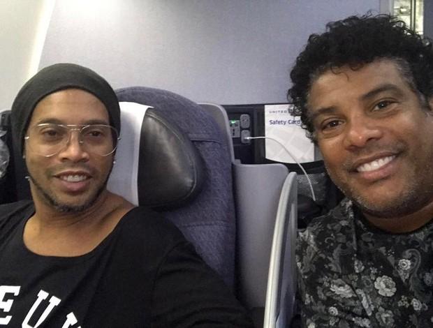 BLOG: Partiu: Ronaldinho vai a Nova Orleans acompanhar o All-Star Game da NBA