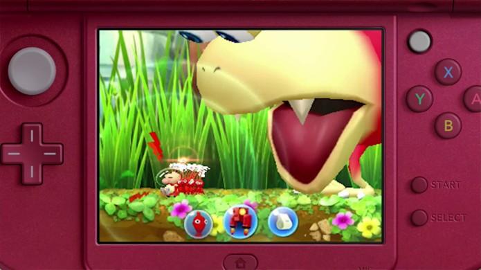 Pikmin muda seu estilo para novo game no Nintendo 3DS (Foto: Reprodução/TechReport)