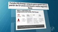 Começa pagamento para beneficiários do PIS a partir de 57 anos