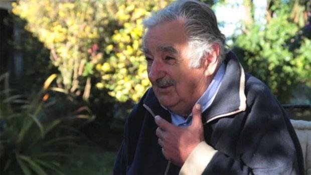 """Ex-presidente disse que uruguaios """"não são afeitos à corrupção"""" e que tráfico de influência é """"doença"""" no Brasil  (Foto: BBC)"""