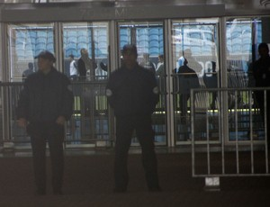 Treino fechado do Grêmio na Arena (Foto: Diego Guichard)