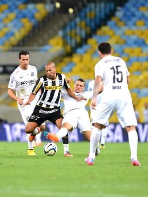 Emerson, Botafogo X Santos (Foto: André Durão)