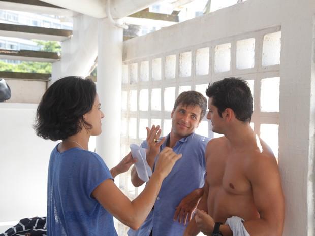 Bruno Gagliasso e Bruno Gissoni  (Foto: Artur Meninea / Gshow)