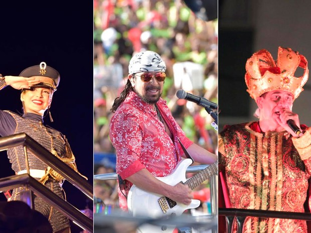 Terça-feira de carnaval em Salvador (Foto: Arte/G1)