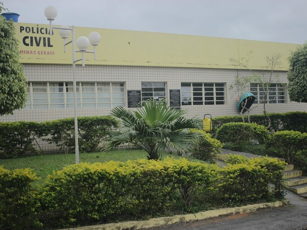 Sede da Polícia Civil em Barroso (Foto: Wanderson Nascimento/Jornal Primeira Página)