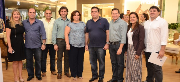 Ribeiro Júnior, gerente de marketing da TV Liberal, foi o representate do Grupo ORM no evento de lançamento da Corrida da Mulher (Foto: Divulgação/GQ)