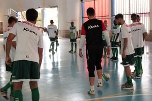 Luverdense, treinos ginásio (Foto: Assessoria/Luverdense EC)