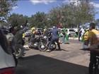Manifestantes entram em conflito em frente a hotel de Lula
