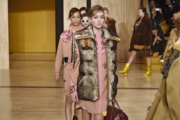 Coach, inverno 2017 (Foto: Getty Images)
