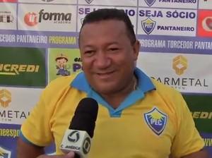 Orivaldo Rondon, presidente do Poconé (Foto: Reprodução/TVCA)