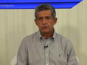 Prefeito de Salgueiro Clebel Cordeiro aborda as dificuldades e projetos (Foto: Reprodução/ TV Grande Rio)