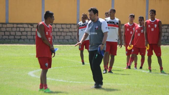 Lorival Santos Santa Cruz de Natal (Foto: Diego Simonetti/Santa Cruz)