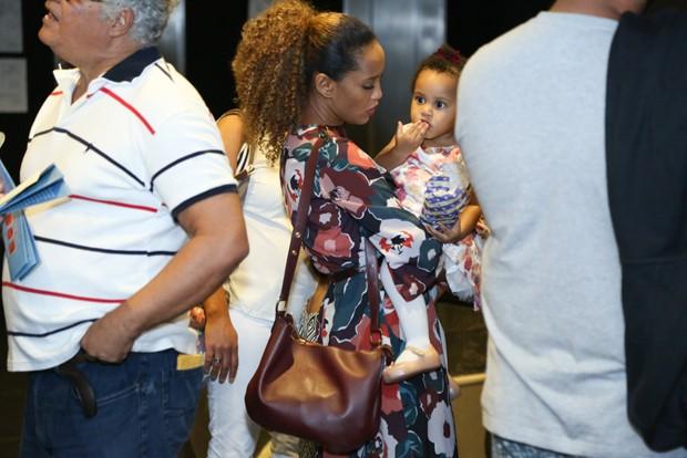 Taís Araújo e Maria Antônia (Foto: Roberto Filho/Brazil News)