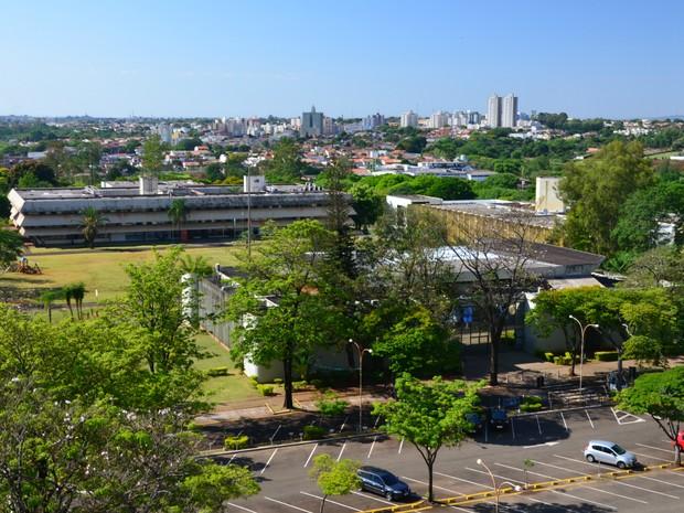 Centro Cívico de Londrina (Foto: Mario Jorge Tavares/Arquivo Pessoal)