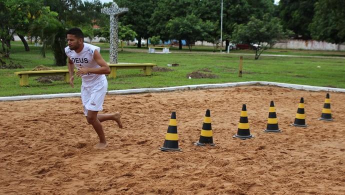 Atacante Yuri Maia (Foto: Júnior Freitas/GloboEsporte.com)