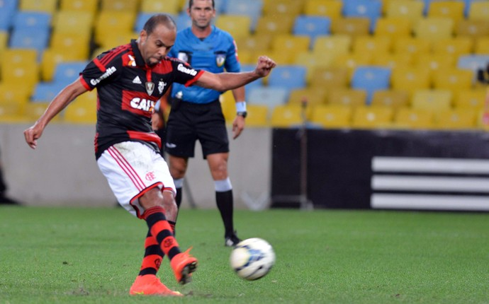 Flamengo x Coritiba - Alecsandro (Foto: André Durão)
