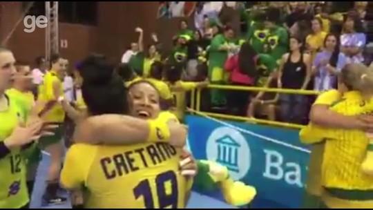 Brasil bate a Argentina em Buenos Aires e conquista o Pan-Americano