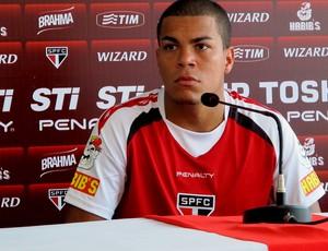 thiago carleto são paulo coletiva (Foto: Carlos Augusto Ferrari / Globoesporte.com)