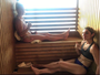 Bethe e Holm dividem mesma sauna antes de pesagem matinal do UFC